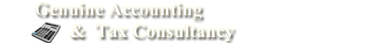 Genuine Accounting & Tax Consultancy Logo